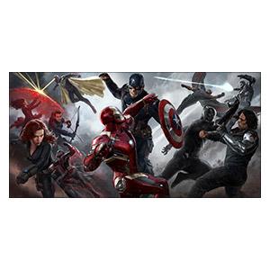Captain America. Размер: 120 х 60 см